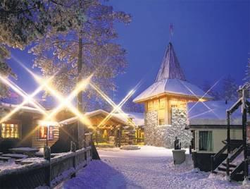 Arctic delight- Santa Claus Village at Rovaniemi